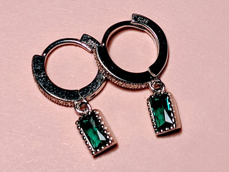 New hoop earrings collection.