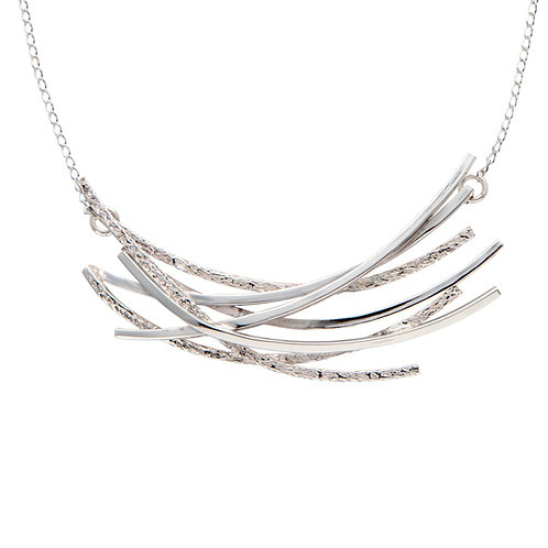 Chris Lewis Curved Line Necklace Small