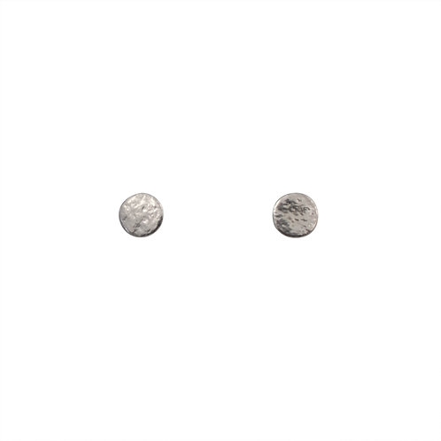 Cara Tonkin Paillette Small Stud Earrings Silver