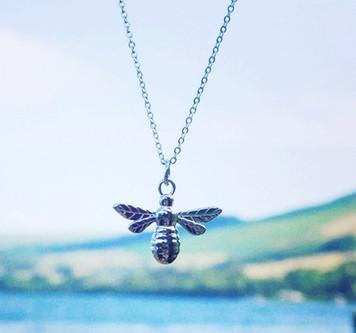 Manchester Bee pendant
