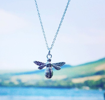 Manchester Bee pendant