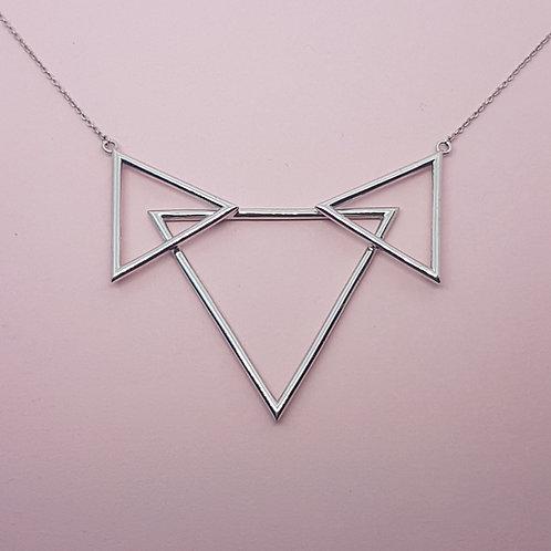 The Three Peaks Pendant Silver
