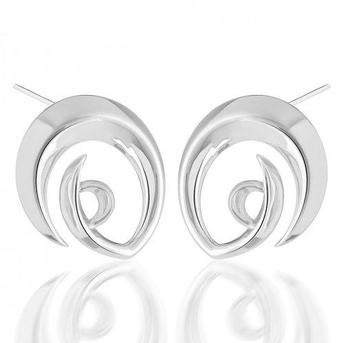 Rachel Galley Surf Logo Earrings