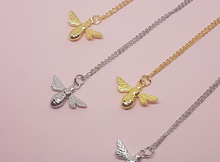The Inspiration behind the Manchester bee pendant.