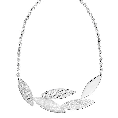 Chris Lewis Spring Leaf Necklace