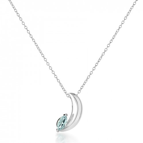 Rachel Galley Surf Moon Topaz Pendant