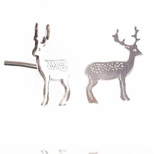 Amanda Coleman Reindeer Stag Stud Earrings