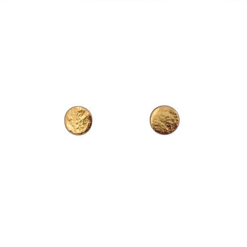 Cara Tonkin Paillette Small Stud Earrings Gold