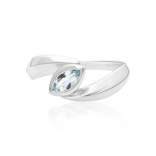 Rachel Galley Surf Spike Topaz Ring