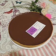 TARTE AU CHOCOLAT - CHOCOLAT TART (serving 6-8)