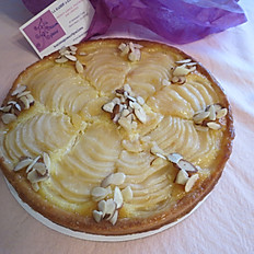 TARTE AUX POIRES - PEAR TART (serving 6-8)
