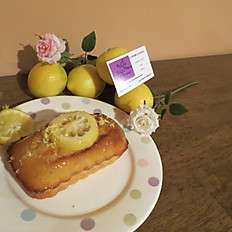 Cake au citron - Lemon cake (serving 6-8)