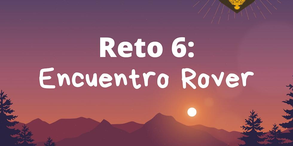 Reto 6: Encuentro Rover