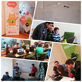 Деца обучават деца ексклузивно в новата Dojo работилница в България!