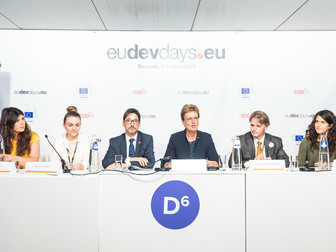 Digital Nationals Alliance at the European Development Days 2018