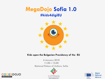 Kids Opening of the Bulgarian Presidency - MegaDojo Sofia 1.0