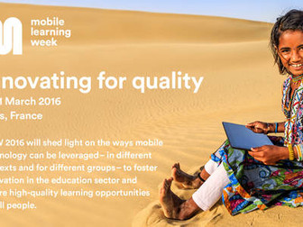 Mobile Learning Week 2016