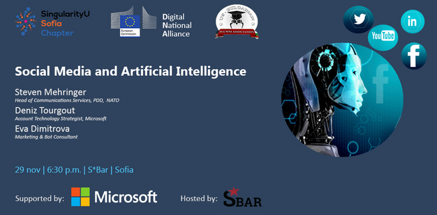 digital national alliance us bulgarian alumni association and singularity university chapter in sofia with the support of microsoft bulgaria organizes - Account Technology