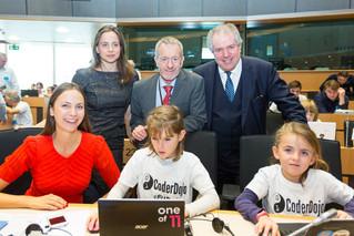 EUDojo в Европейския парламент