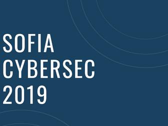 Sofia Cyber Sec 2019