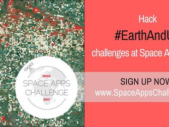 Регистрацията за участие в най-големия хакатон в света NASA Space Apps Challenge 2017 е отворена! Пр