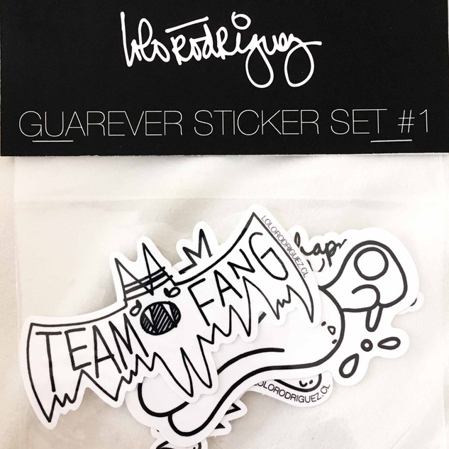 Guarever Sticker Set #1