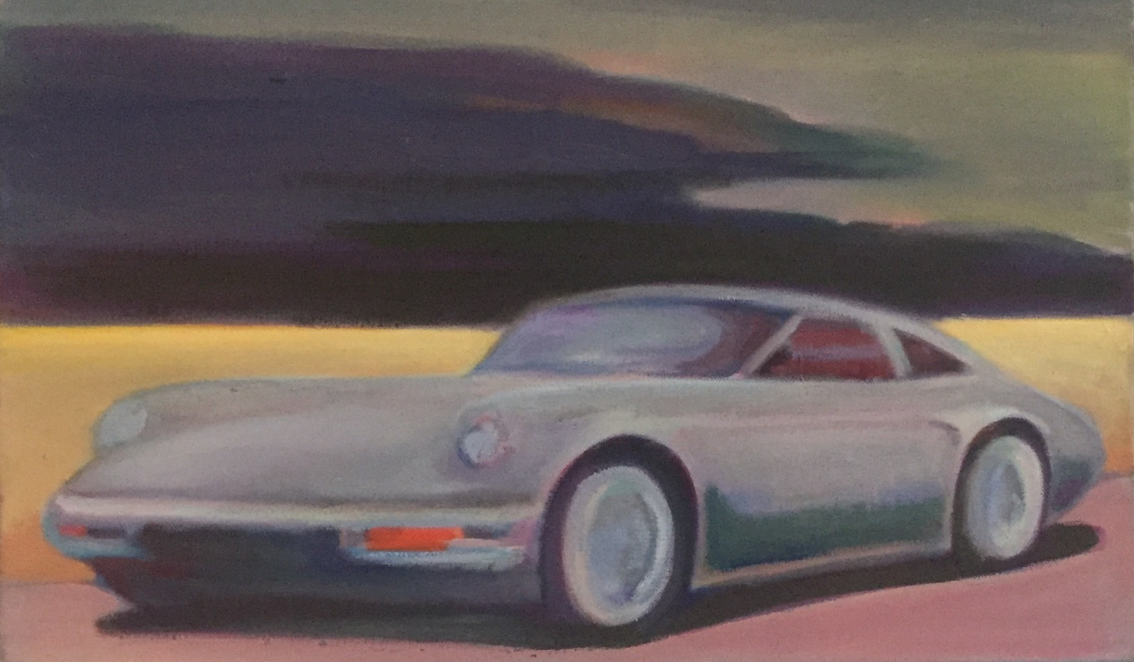 """""""Porsche in a Storm"""""""
