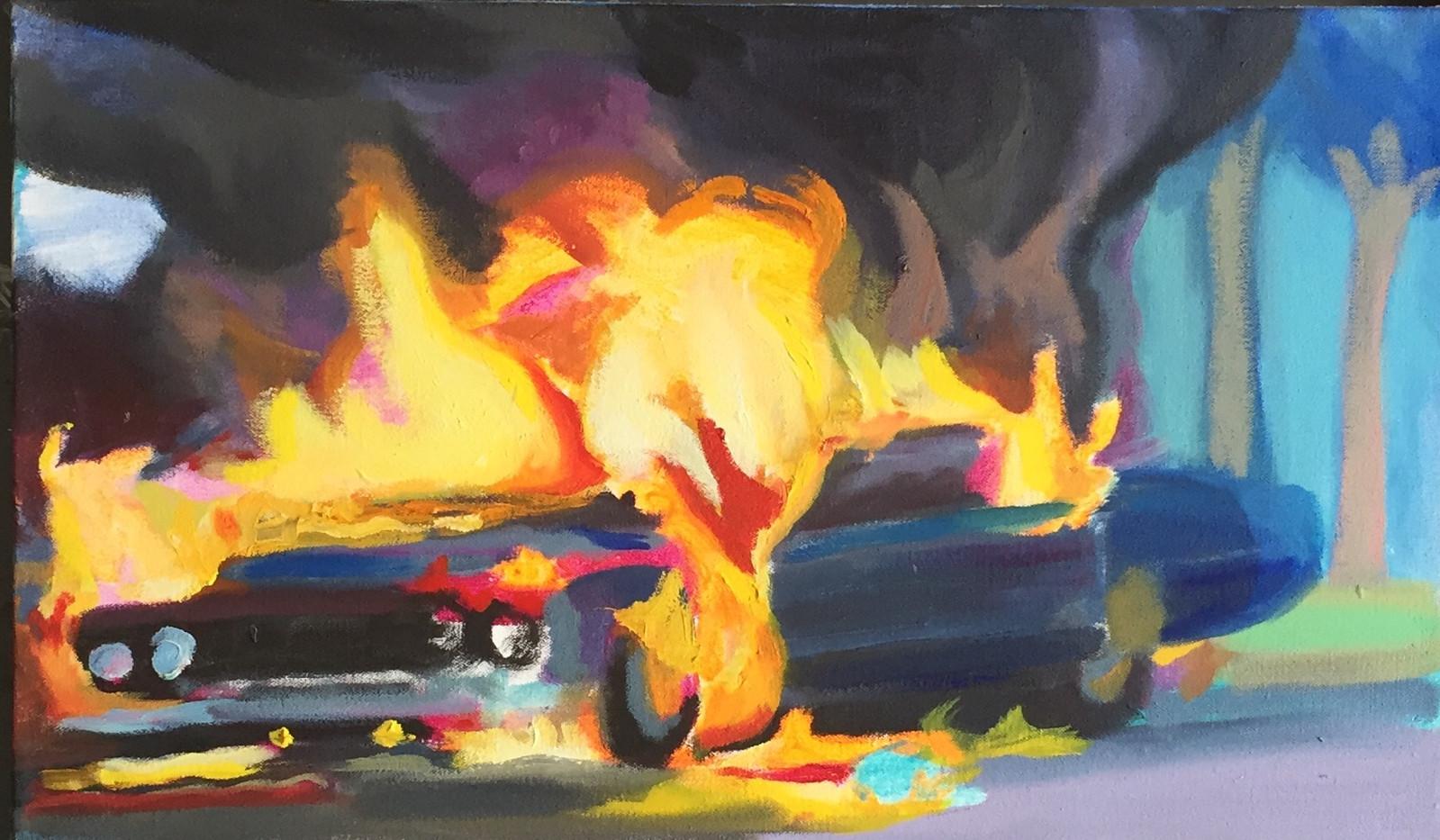 Burning Lincoln