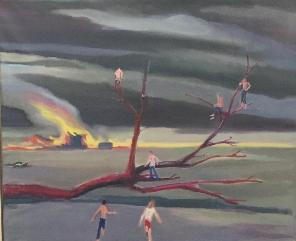 Running to Watch the Cities Burn