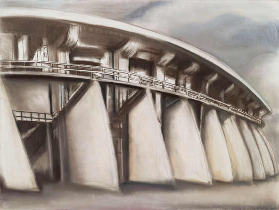 """""""The Dam from Below"""""""