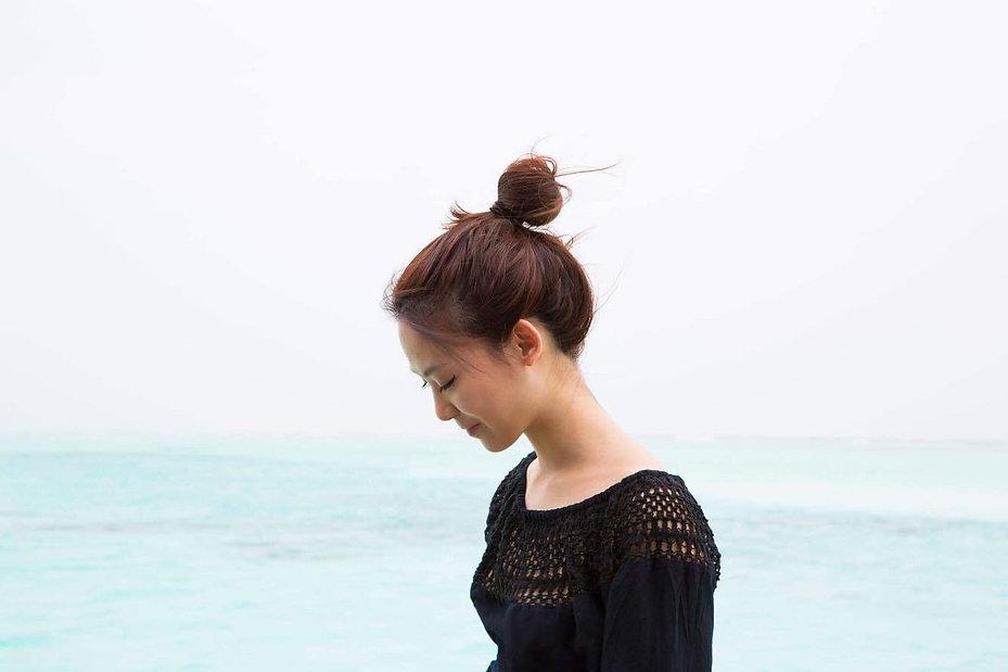 Christine in Maldives