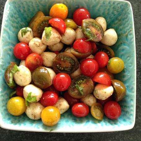 Tomato-Mozzaralle Salad