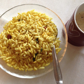 Masala Murmure/Spicy puffed rice