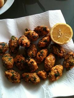 Chana daal Veda/Falafel