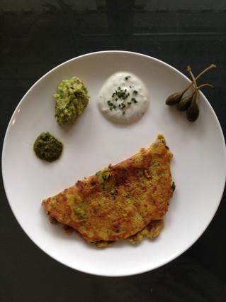 Childra/Vegetarian Omelette