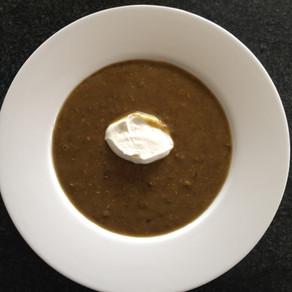 Laird green lentil soup