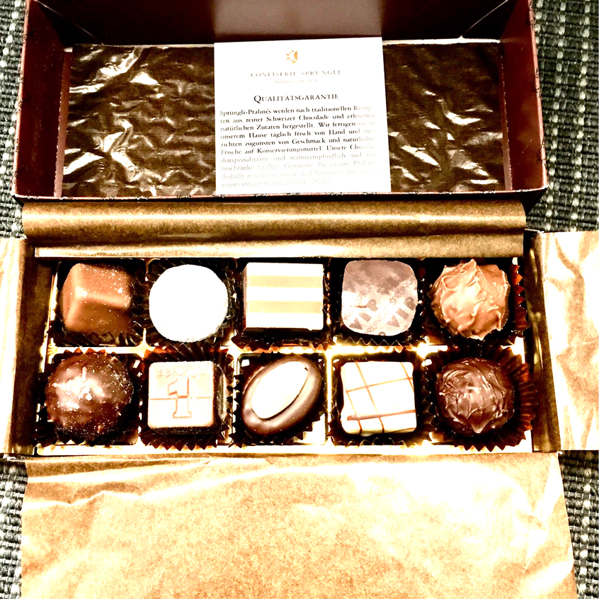 The 10 handcrafted Pralines & Truffles