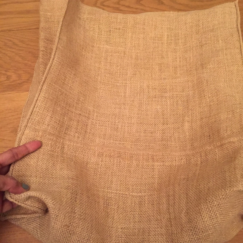 Pressed sewing for form & shape