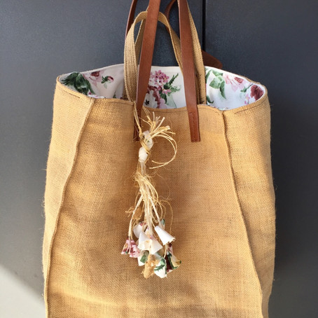 Jute Shopper Bag