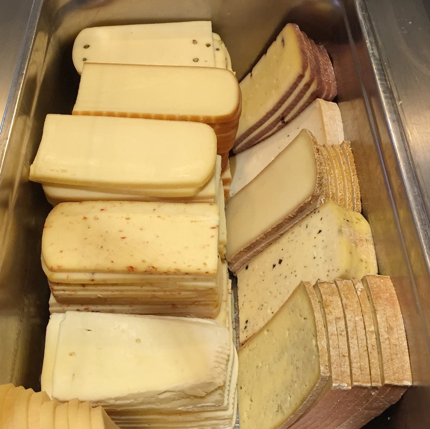 Assorted Raclette cheese