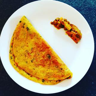 Childra/ Vegetarain Omelette II