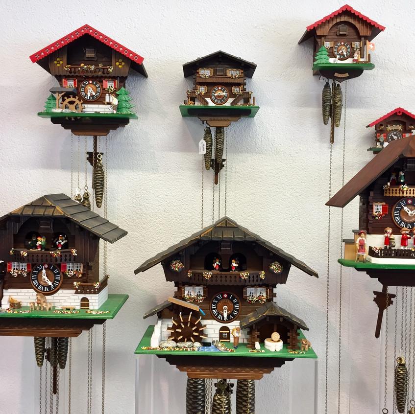 Cucukoo clocks