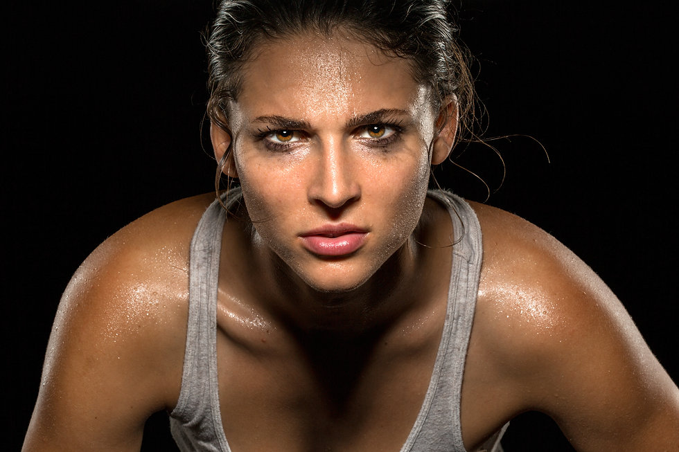 Athlete focus with musical hypnosis