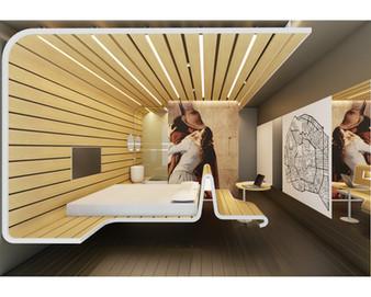 OSPITALITA' G584/16 (Hotel Room Concept)