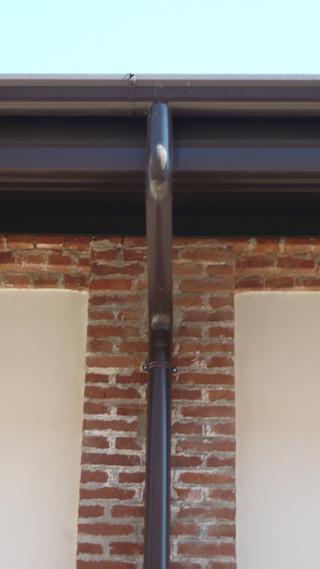 Dettaglio del fronte esterno (foto)