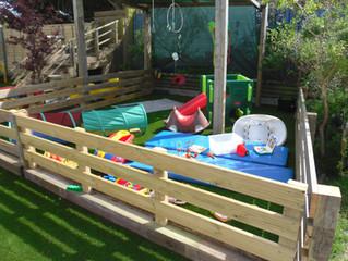 Our new garden!