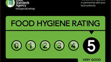 5 Star Food rating!