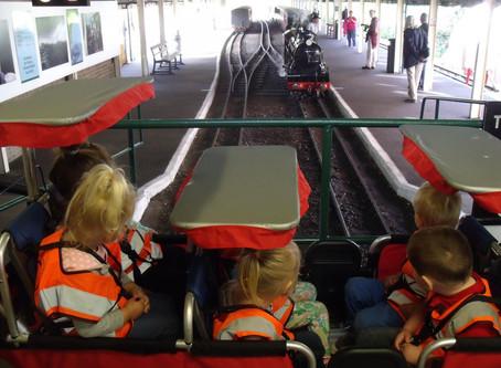 Discoverers Train Trip