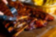 NBDD Signature Pork Rib char-broiled  음식 食通