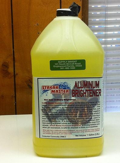 Aluminuox: Aluminum Cleaner & Brightener Solution
